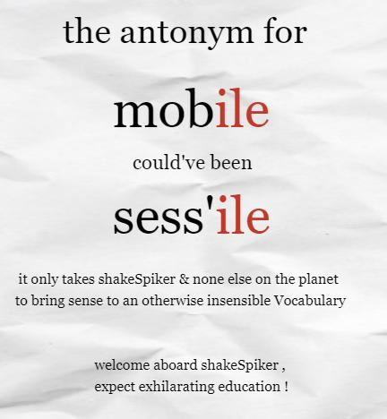 vocabualry metry